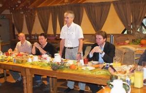 Gemini Vorstand (v.l.) Marcus Streich, Christian Trost, Harald Voß und Michael Langen (Foto: Morich)